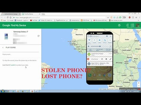 How to Find and Track a LOST/STOLEN Android Smartphone [Hindi] |2018