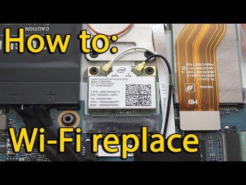 Lenovo ThinkPad E330 Wi-Fi card replacement