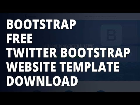 Bootstrap - Free twitter bootstrap website template download