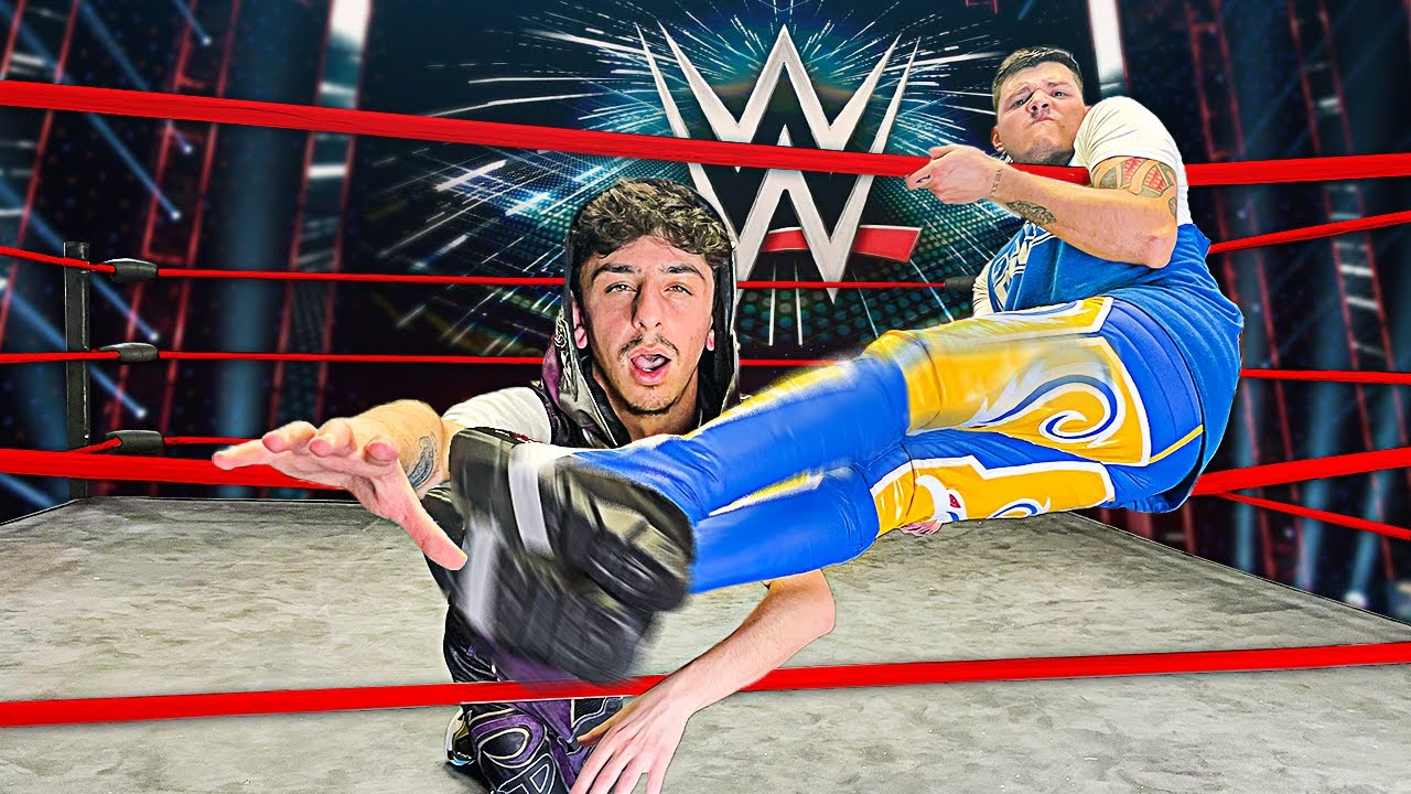 Becoming a WWE Superstar for 24 Hours! (ft. Dominik Mysterio)