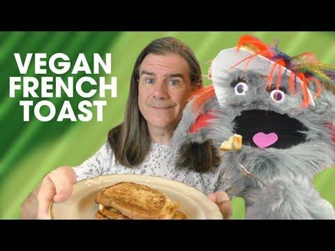 Vegan French Toast (with Aquafaba): 3 Ingredient Recipes