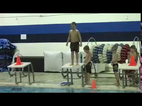 Jumping off the diving board!