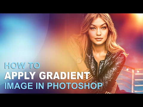 How to Use Gradient Image in Photoshop cc ( Unitedlearn )