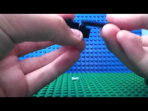 How to Make a Lego Minecraft Enderman