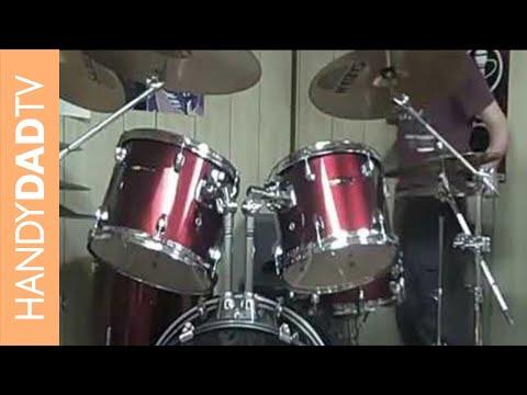 FAIL: Tom trips on his drum kit
