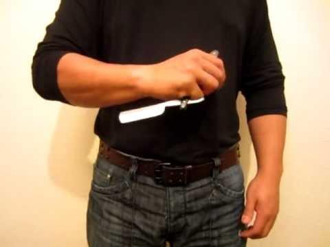 Silat Suffian Bela Diri - Straight Razor Blade : Quick Draws & various Grips