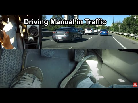 How To: Drive Manual Transmission car in heavy Traffic for beginners