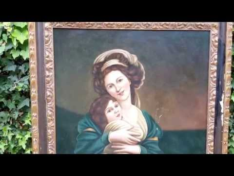 HOW TO RECOGNIZE VALUABLE GOODWILL ART! By Drew, CALIFORNIA PICKIN