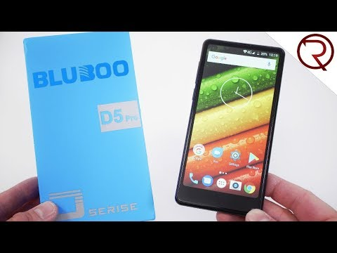 Bluboo D5 Pro Smartphone Unboxing & Hands-On - Under $100