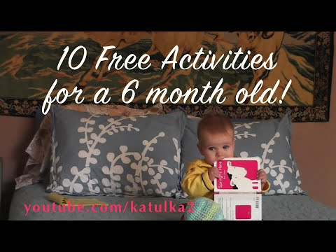 10 Free Activities for a 6-month-old