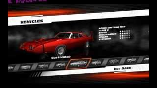 Fast and Furious Showdown  PC All Cars