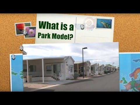 What is a park model? What is an Arizona Room?
