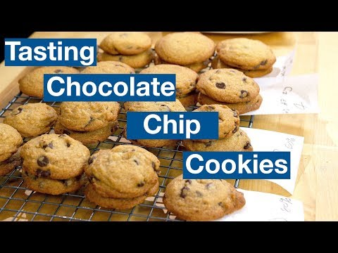 Tasting Chocolate Chip Cookie Recipes || Le Gourmet TV Recipes