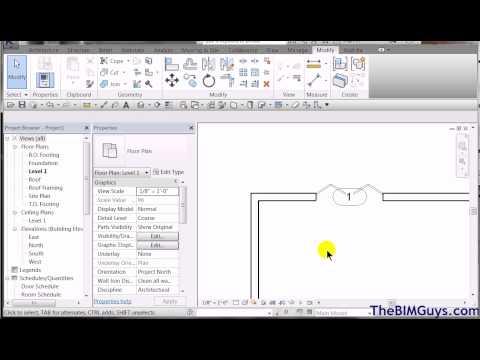 Revit - Editing Door Parameters to accommodate schedule needs - CADtechSeminars.com