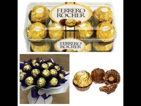 How to make Ferrero Rocher(full Recipe)-[ Hindi/ English ]