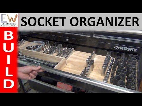 Build the Best Socket Organizer - DIY