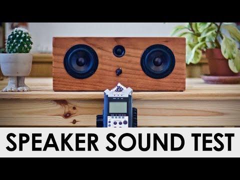 DIY Speaker Sound Test! || Basic Tools Bluetooth Speaker