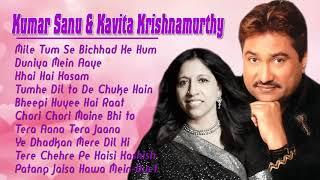 Kumar Sanu   Kavita Krishnamurthy   Hits 90s Bollywood Romantic Songs   Lastest Hindi Song