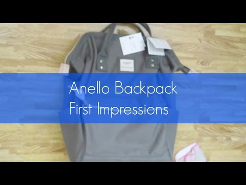 Anello Backpack First Impressions + How Much Can It Hold?