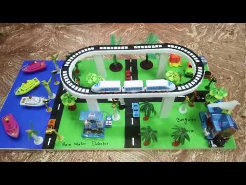 School Project - Smart City - Burgular Alarm - Car Theft Alarm - Rain Water Detecter Models