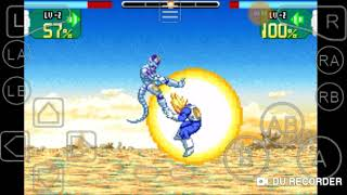 GBA emulator: Dragon Ball Z super sonic warriors Frieza's story: Goku's death and revival