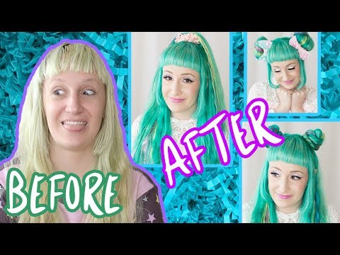 HAIR FAQ + Dye Transformation + 3 Hairstyle How tos