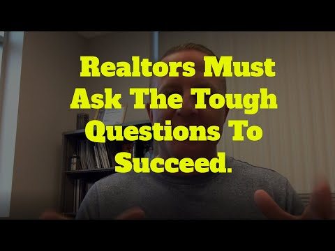 Lee Barrison   Asking The Tough Questions As a Realtor