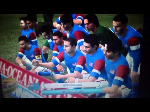 Pes 2012 : Malaysia vs japan (AFC CUP)