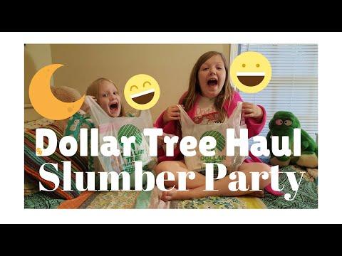 Dollar Tree Haul Slumber Party | emoji | my little pony | candy
