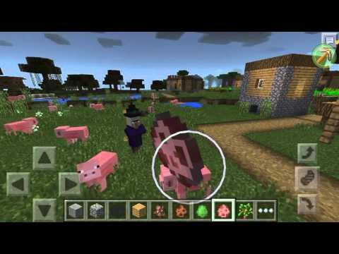 MCPE 0.14.1 Lightning Challenge Preview ,Lightning+Pig=?