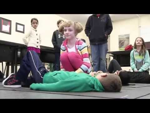 Kids Learning First Aid