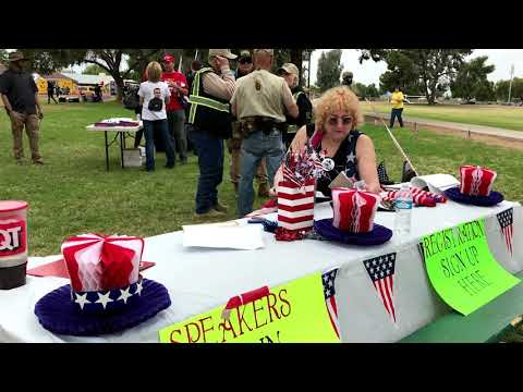 Face-off: Protesters show up at 'Pro-America' rally in Phoenix park