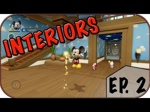 SIDEKICK ROOM CUSTOMIZING! - Disney Infinity 3.0 Interiors Ep. 2