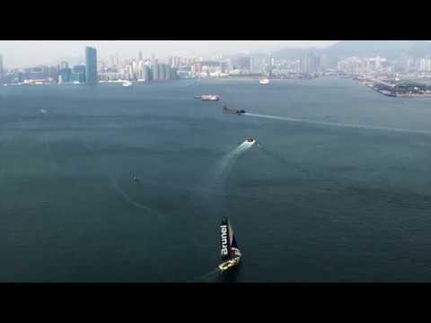 TEAM BRUNEL - Arrival in Hong Kong