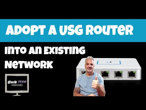 How to Adopt a USG into an Existing Network