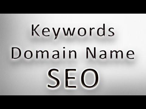 Keywords in Domain Name as Google Ranking Factor - SEO