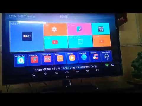 hướng dẫn xem tivi hát karaoke với pana box x99 smart box thịnh phát