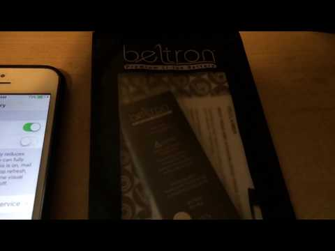 Battery Health Setting Not Working on After Market Beltron Battery: Iphone SE