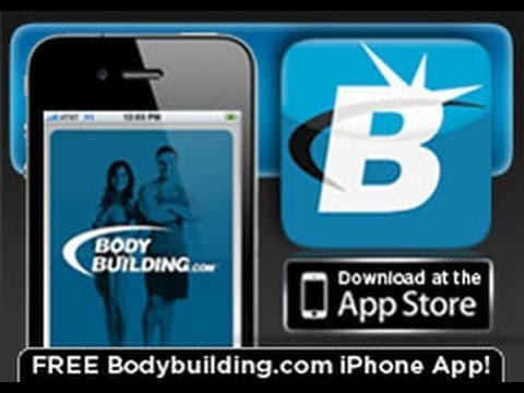 Bodybuilding.com iPhone App Review [Helps you gain lean muscle mass and strength!]