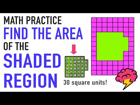 ✪ How to Find Area of a Region | 3rd Grade Common Core Math
