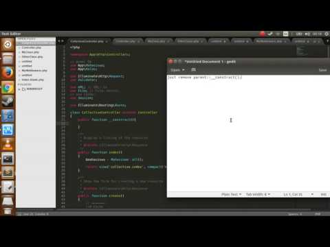 Laravel 5.4 error - Cannot call constructor