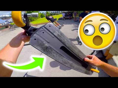 WHAT SCOOTER DECK IS THAT?!