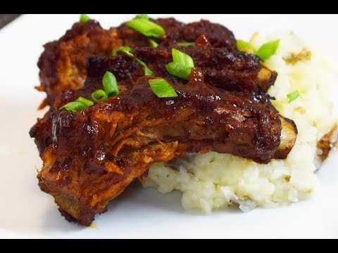 Chipotle BBQ Ribs for Father's Day, homemade, easy and delicious,