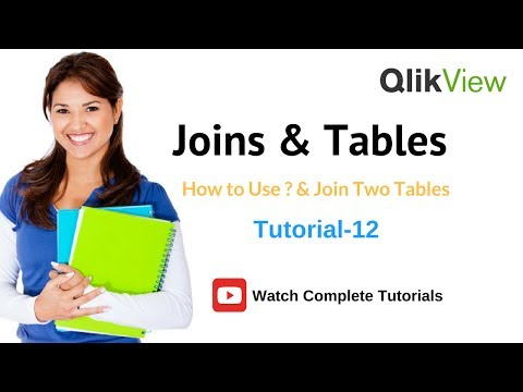 QlikView Joins & Tables | Using Joins in QlikView  Tutorial 12