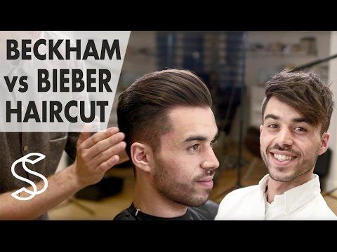 David Beckham VS. Justin Bieber hair - Battle of the best men's hairstyle