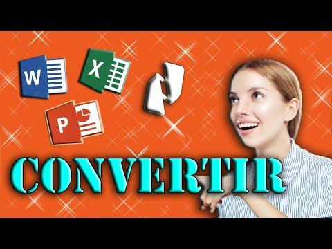 Convertir PDF a Word/ Excel/ Power Point/ Imagen | Nitro Pro 9