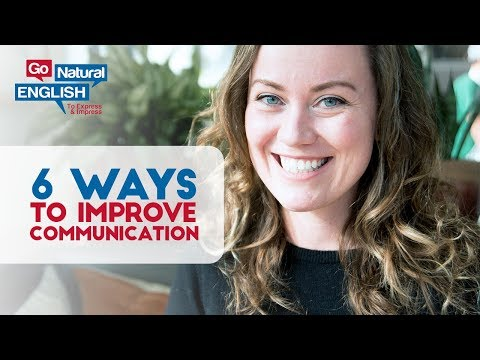6 Ways to Immediately Improve Your English Communication Skills FB Live Nov 25