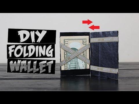 DIY Magic Folding Wallet Tutorial