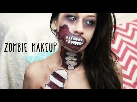 Comic Book Zombie Makeup Tutorial