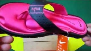 sports shoes 2f0db 14b78 Nike Womens Comfort Thong Sandal Blackwhitevivid Sandália